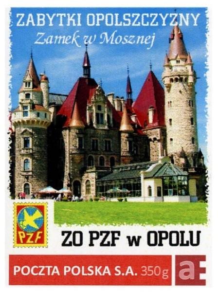 Kolejne znaczki przedstawiające zabytki Opolszczyzny będą się sukcesywnie ukazywać raz lub dwa razy w roku.