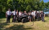 Strażacy z OSP Trzcianne otrzymali specjalistyczny zestaw ratunkowo-gaśniczy warty 100 tys. złotych (zdjęcia)