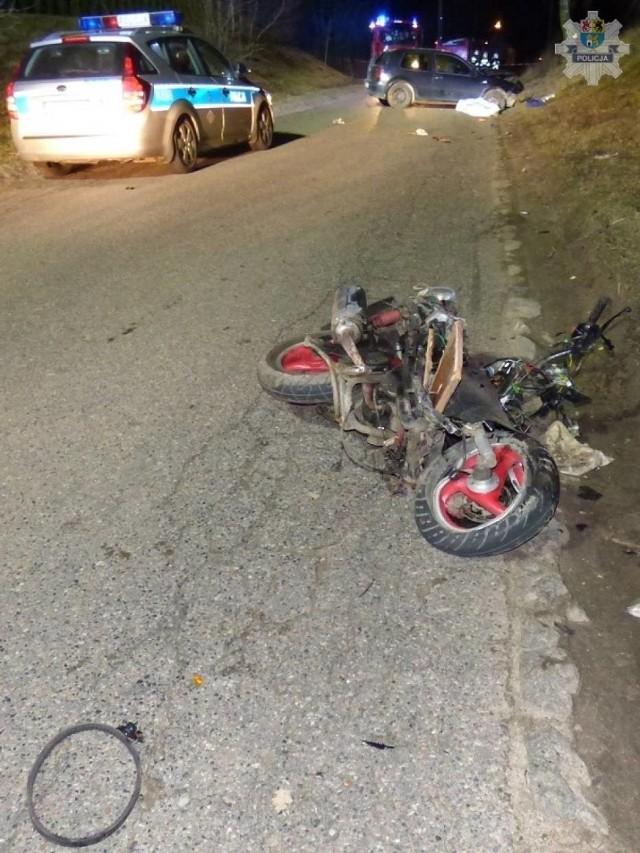 Śmiertelny wypadek w Popowie