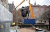 Rozpoczęła się rozbiórka dawnego kina Neptun w Gdańsku [ZDJĘCIA]