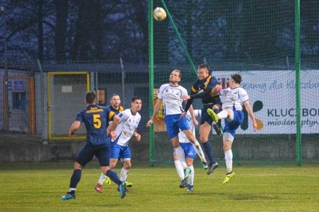 MKS Kluczbork pokonał Ruch Zdzieszowice 1-0.