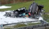 Tragiczny wypadek na A4: śmierć poniosło dziecko. Autostrada w stronę Wrocławia jest zablokowana