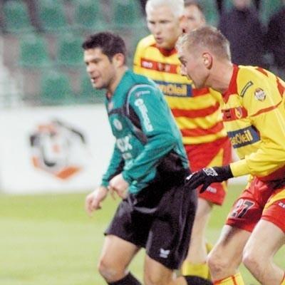 Piotr Piechniak (z lewej) jest jednym z kandydatów do gry w Jadze. Jego transfer stoi jednak pod dużym znakiem zapytania.
