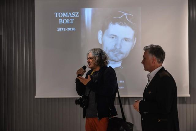 24.10.2018, Gdynia, otwarcie wystawy zdjęć Tomasza Bołta
