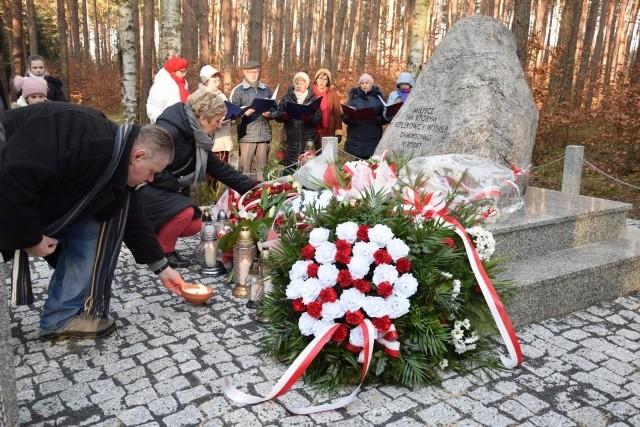 24.01.2020 - Obchody 75. rocznicy tragicznych wydarzeń na ziemiach kargowskich