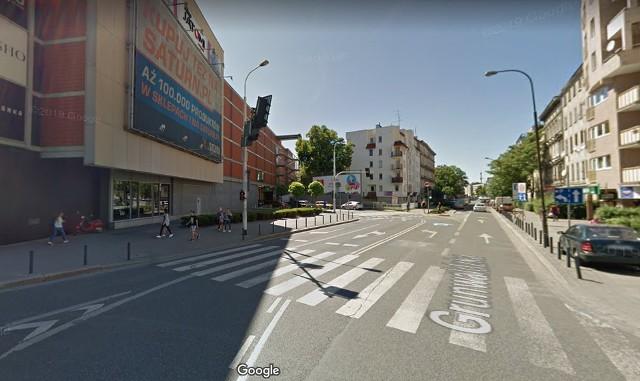 Wyłączony z ruchu będzie fragment ulicy Grunwaldzkiej, bezpośrednio przy Pasażu Grunwaldzkim