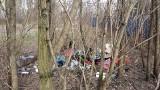 Wysypiska śmieci nad Brdą