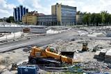 Opole Wschodnie. Będzie zmiana organizacji ruchu przy budowanym centrum przesiadkowym. Jak tamtędy pojedziemy? [MAPA, ZDJĘCIA]