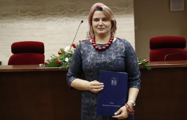 Anna Huk, członek zarządu województwa podkarpackiego.