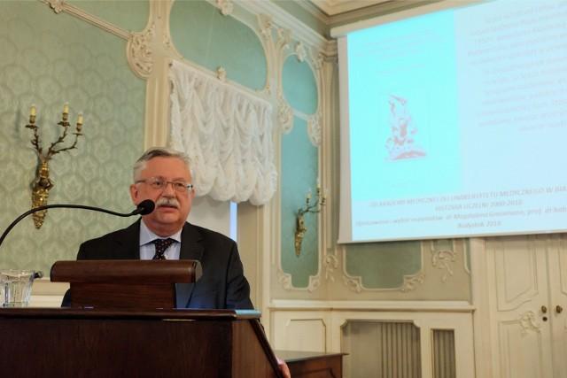 Prof. Lech Chyczewski został rektorem Wyższej Szkoły Medycznej w Białymstoku