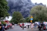 Potężny pożar w Sosnowcu. Prezydent miasta: zostańcie w domach i zamknijcie okna