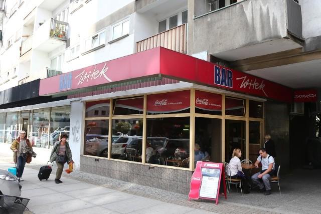 Bar Witek przy ulicy Wita Stwosza