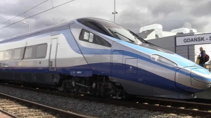 Pociąg z Gdańska do Warszawy pojedzie o 14 minut szybciej niż do tej pory