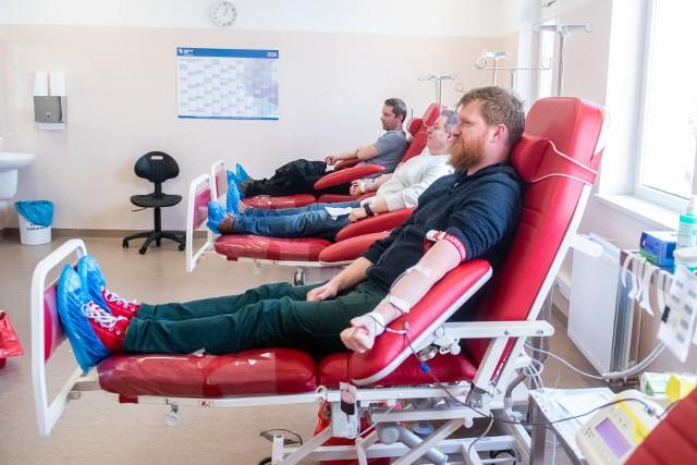 Poznaniacy chętnie oddają krew.