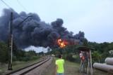 Pożar odpadów w Sosnowcu. Można dobrze zarobić. Takie podpalenia świetnie zna prokuratura