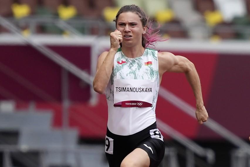 """Tokio: Białoruska biegaczka Kryscina Cimanouska uciekła trenerom. """"Boję się, że na Białorusi trafię do więzienia"""""""