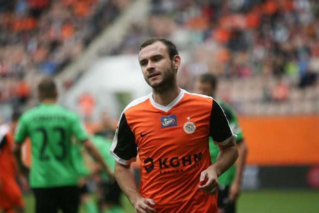 Filip Starzyński swoim golem dał Zagłębiu Lubin bardzo cenny komplet punktów