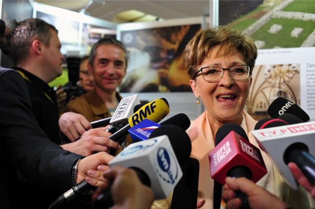 Elżbieta Radziszewska złożyła rezygnację ze startu w wyborach -potwierdził nam rzecznik regionu PO, Tomasz Piotrowski.