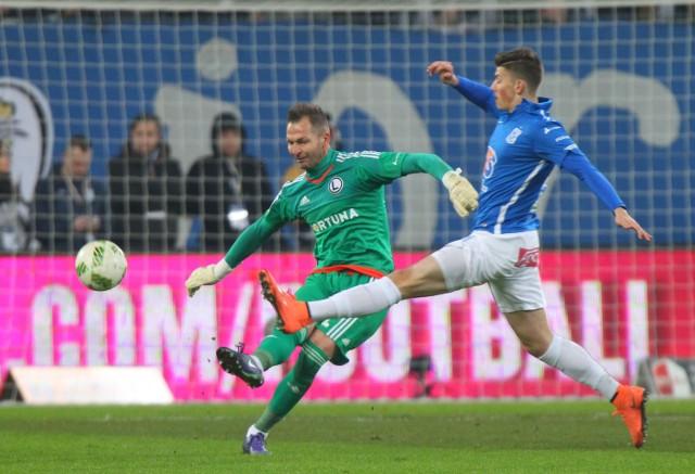 Dawid Kownacki strzelił w tym sezonie siedem goli dla Lecha