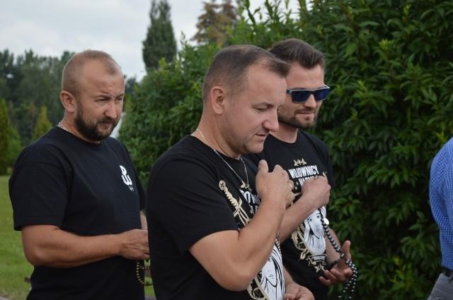 Męski różaniec przeszedł ulicami Bełchatowa