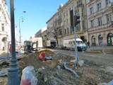 Remont ulicy Piotrkowskiej. Skończą prace przed terminem?