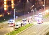 Bydgoszcz. Rowerzystka potrącona na ścieżce rowerowej przy pasach na ul. Ogińskiego. Policja ustala przyczyny zdarzenia