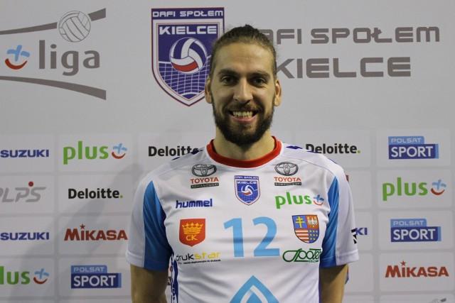 Tomislav Dokić zasilił Dafi Społem Kielce.