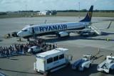 Na Ławicy wylądował samolot z Mediolanu. Pasażerowie zostali przebadani pod kątem koronawirusa