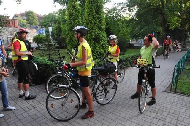 Goście z Litwy do Opola dotarli w sobotni wieczór po przejechaniu od rana 130 km.