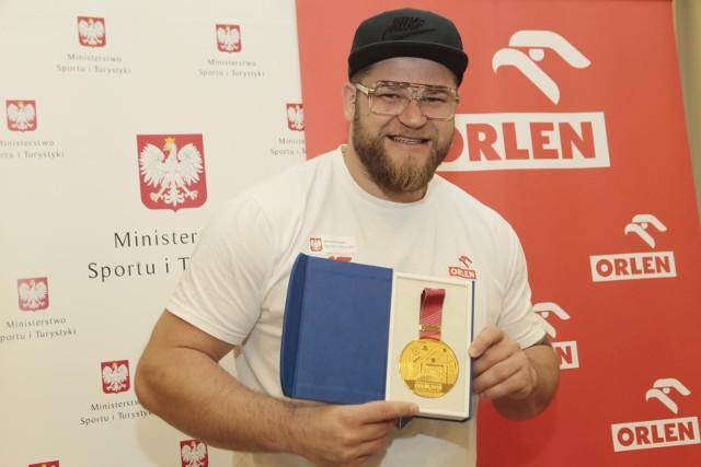 Jedną z naszych największych medalowych nadziei jest młociarz Paweł Fajdek