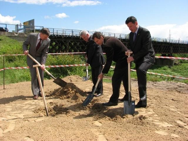 Rozpoczecie budowy mostu w Malkini (fot. Dylewski)
