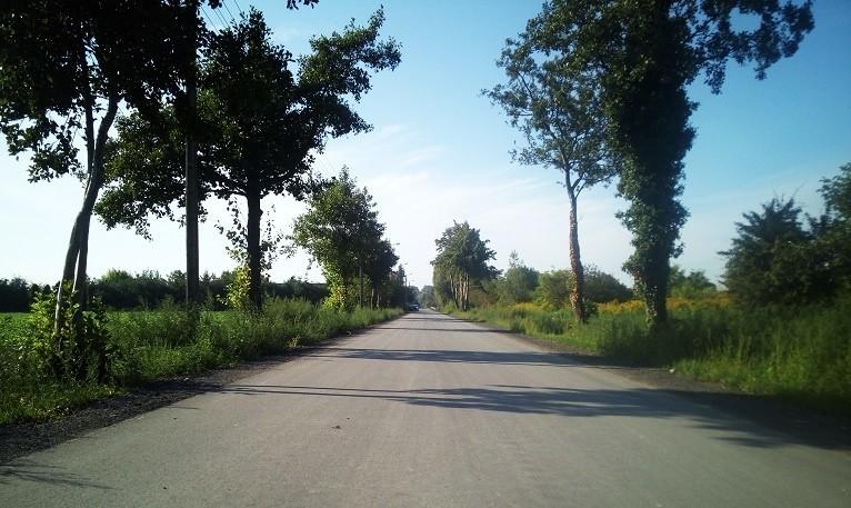 Przebudowa drogi na ul. Rzecznej w m. Sikorowo