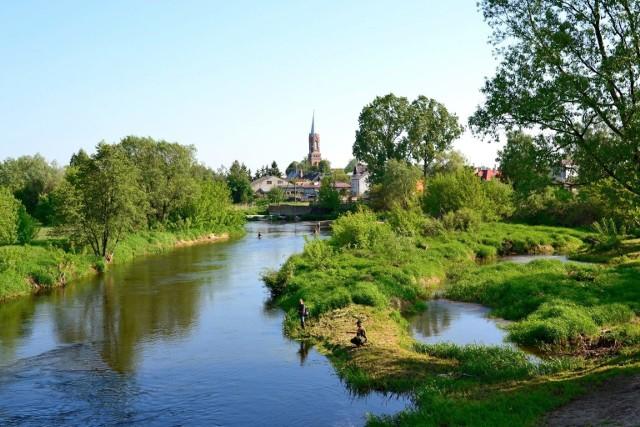 Sochocin – w gminie Sochocin, w powiecie płońskim, w województwie mazowieckim. Widok ogólny.