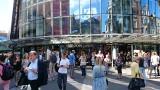 Ewakuacja Galerii Katowickiej. Klienci i obsługa usłyszeli alarm pożarowy ZDJĘCIA + WIDEO