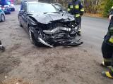 Wypadek na DW 254 w Antoniewie pod Łabiszynem [zdjęcia]