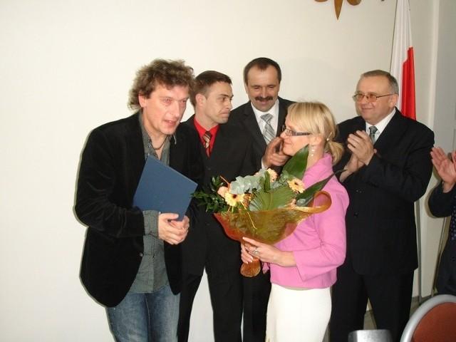 Jan Panasewicz nie krył wzruszenia, bo jak przyznał w Olecku czuje się najlepiej na świecie.