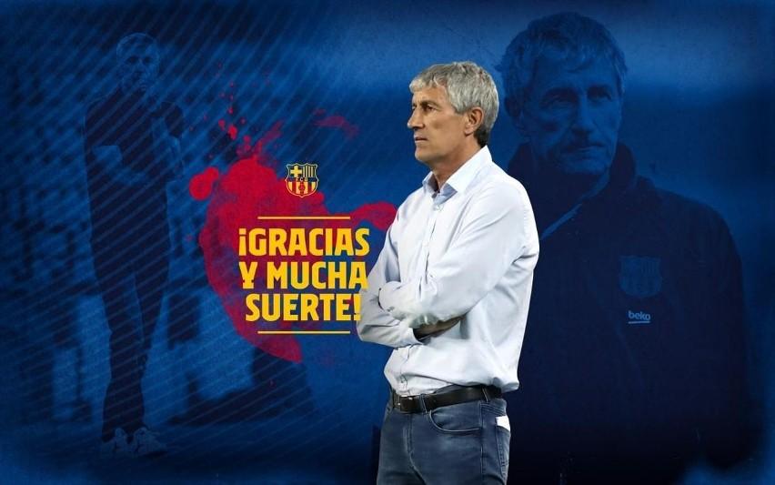 Oficjalnie: Quique Setien zwolniony z FC Barcelony