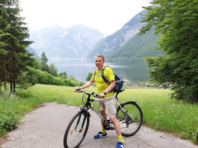 Bajeczny pejzaż, prawda? Arkadiusz Pilas dzieli się z nami fotograficznym wspomnieniem z wycieczki rowerowej po austriackiej części Alp Salzburskich. (Archiwum prywatne)