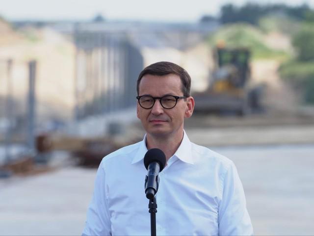 """Premier mówił, że nie można zapominać o """"zasadniczych sprawach związanych z polityką Federacji Rosyjskiej wobec sąsiadów""""."""