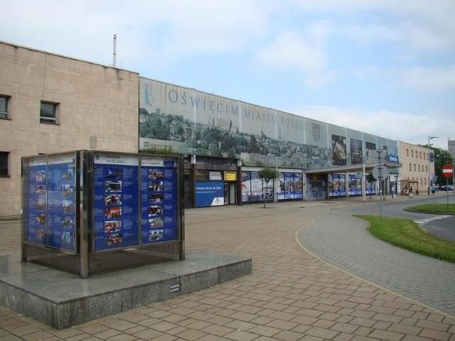 Obecny dworzec PKP w Oświęcimiu