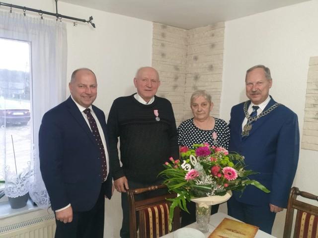 Złote Gody małżeństwa z Lipnicy.