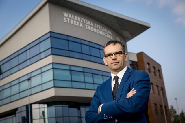 Krzysztof Drynda był wiceprezesem WSSE Invest Park do listopada 2020 roku.