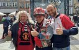 Kibice ŁKS i Manchesteru United na finale Ligi Europy w Gdańsku. Galeria zdjęć