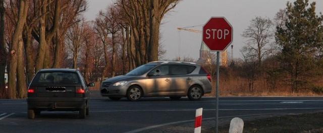 Problem dotyczy tego skrzyżowania. Najgorzej jest od strony Sulechowa.