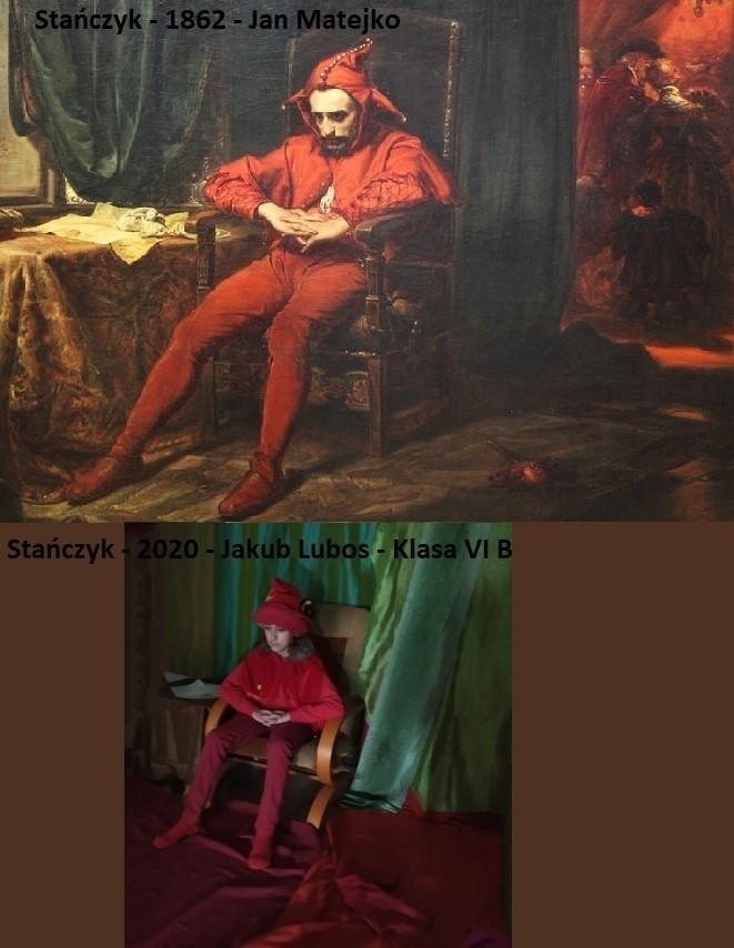 Młodzi mieszkańcy Ciasnej odtworzyli znane dzieła sztuki....