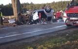 Śmiertelny wypadek na drodze krajowej 22, pomiędzy Bytonią a Zblewem. 19.09.2020 r. Nie żyje mężczyzna