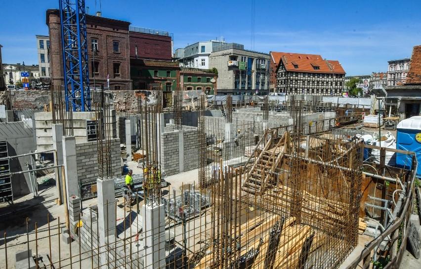W Bydgoszczy trwa budowa Teatru Kameralnego.