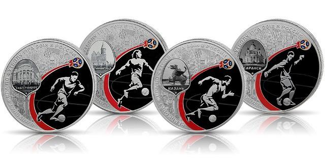 Każdą z 12 monet o wadze jednej uncji wykonano ze srebra wysokiej próby 925/1000.