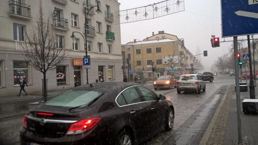 Atak zimy w Podlaskiem? Dzisiaj ma mocno popadać