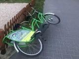 Nie szanujemy, rozwalamy, urywamy koła. Biedny los rowerów miejskich w Zielonej Górze. Wandale nie pozostają bezkarni